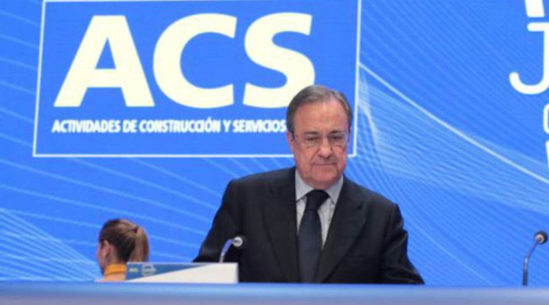 ACS dispone de 12.000 millones en liquidez para afrontar el Coronavirus