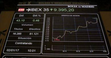 El Ibex35 cierra la semana por encima de los 9.000 puntos