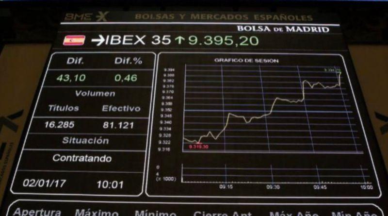 El Ibex35 cierra a la baja su mejor semana en dos meses