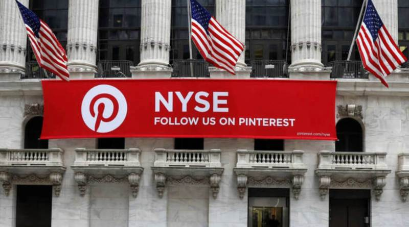 La red social Pinterest debuta en bolsa con subidas del 28%