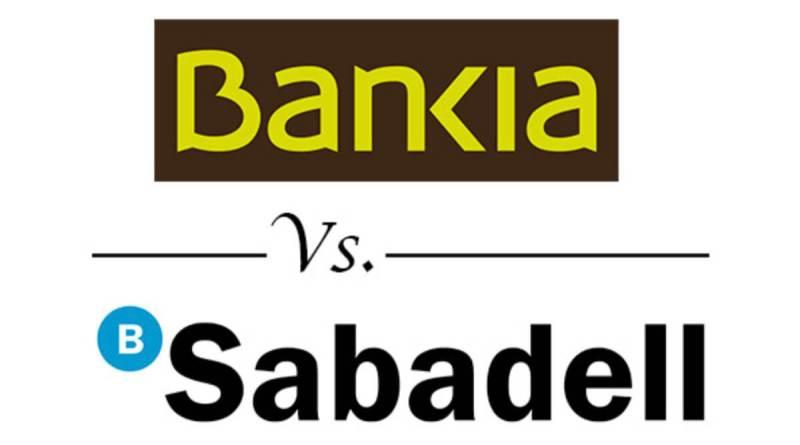 Sabadell, Bankia,