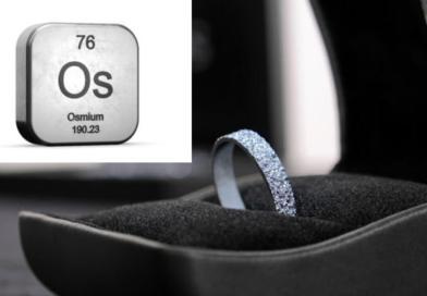 El Osmio triunfa en el mercado como nuevo metal precioso