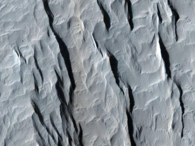 Un sector de Arabia Terra. (Foto: NASA/JPL-Caltech/University of Arizona)