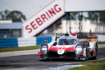 TOYOTA GAZOO Racing. World Endurance Championship. 1000 Miles of Sebring 13th to 15th March 2019 Sebring International Raceway