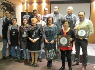 El chosco de Tineo y el Vino de Cangas en la campaña '10 sabores para comerse Asturias' 3