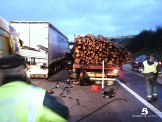 Un fallecido en accidente de tráfico en Coaña 4