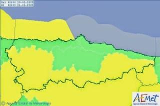 La nieve se deja ver en gran parte de la comarca 6