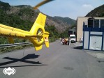 Trasladado al HUCA un minero herido en Pilotuerto, Tineo 1