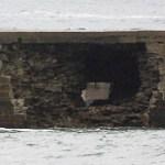 Obras en el dique de Luarca