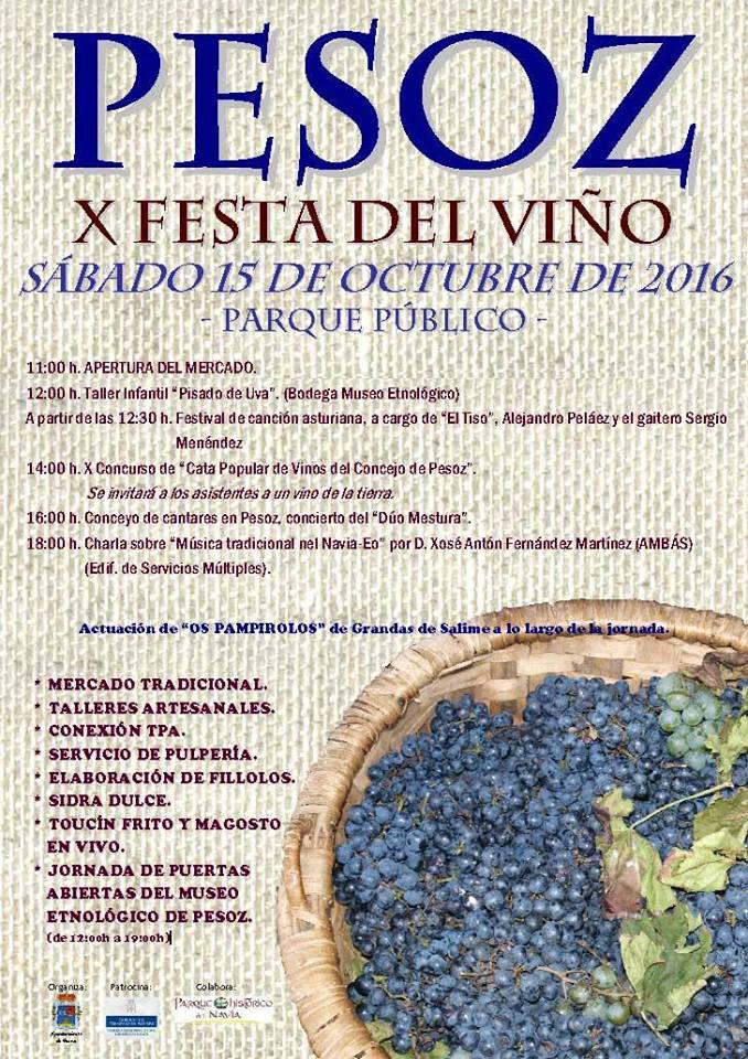 Festa del Viño en Pesoz