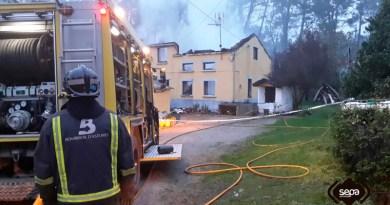 Incendio en El Franco