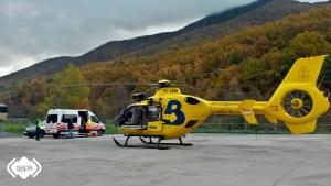 Un fellecido y una herida en Cerredo por inhalación de monóxido de carbono