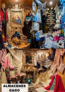 campaña navideña comercio de Luarca