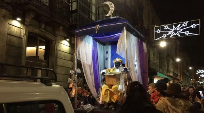 Cabalgata de Reyes en Luarca