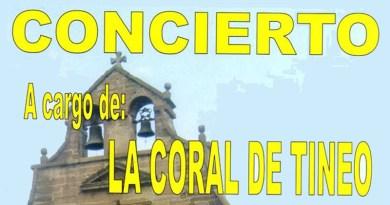 concierto coral Tineo