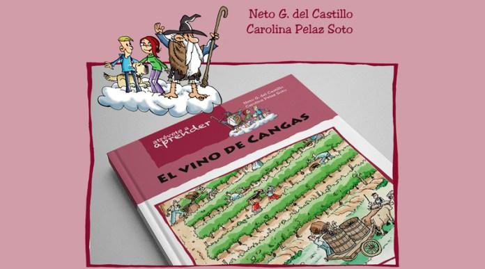 libro el vino de Cangas del Narcea