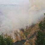 Estabilizado el incendio de Grandas de Salime