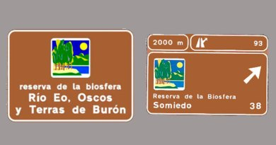 Senalizacion reservas biosfera