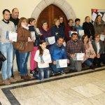 Alumnos del proyecto PIOME reciben sus diplomas en Tineo