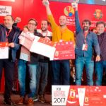 Pepe Ron, del bar Blanco de Cangas del Narcea, subcampeón en el Concurso Nacional de Pinchos y Tapas