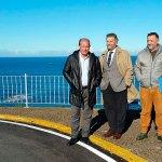 Finalizadas las obras de la carretera entre Navia y los miradores de Peña Furada