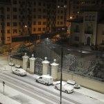Nieve en Cangas del Narcea
