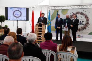 El presidente del Principado inaugura la Feria de Muestras de Tineo 1