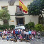 Alumnos del colegio Padre Galo visitan las instalaciones de la Policía Nacional
