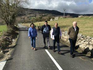 Obras de mejora en caminos de Llaviada, en Boal 1