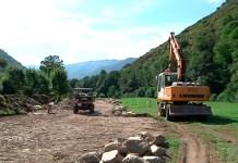 Obras de saneamiento en Fondos de Vega