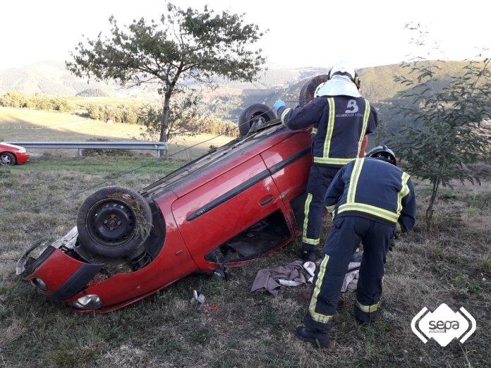 20190926 accidente tráfico tineo la llama