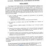 Bando Ayuntamiento Degaña 12/03/2020