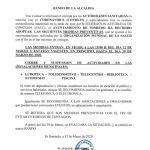Bando Ayuntamiento Somiedo 12/03/2020