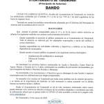 Bando Ayuntamiento Taramundi 12/03/2020