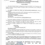 Cierre de instalaciones municipales y servicio de recetas en Degaña