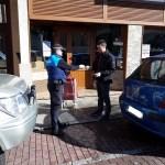 Dos denuncias y 12 requerimientos de la Policía Local de Cangas durante el estado de alarma