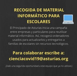 Campaña de recogida de ordenadores usados para escolares sin recursos tecnológicos 1