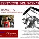 Presentación del poemario 'Navalla'