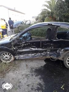 accidente de tráfico en otur
