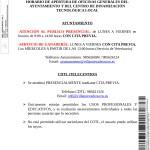 Horarios atención Ayuntamiento y CDTL