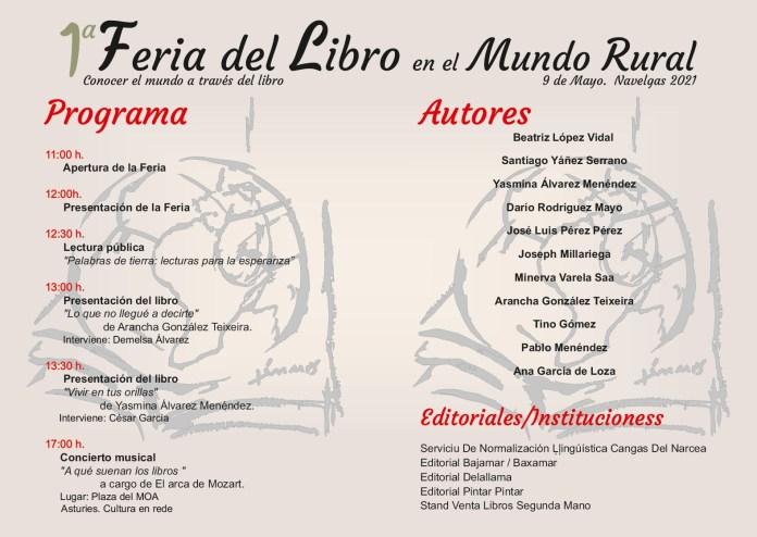 Primera 'Feria del Libro en el Mundo Rural', en Navelgas 1