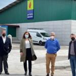 Visita a las instalaciones de Pellets Asturias, en Tineo
