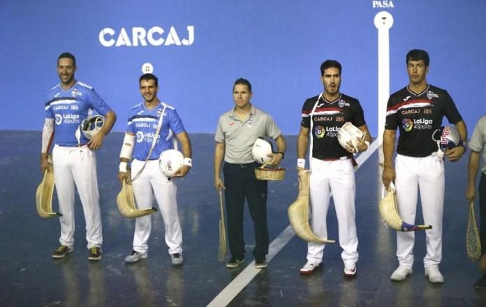 Torneo Internacional de Jai-Alai en Madrid