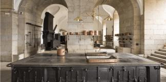 palacio real cocina
