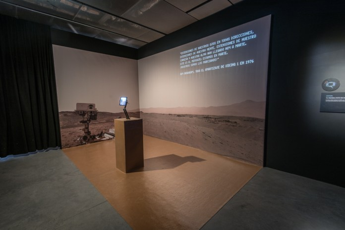 La conquista de Marte en la Fundación Telefónica