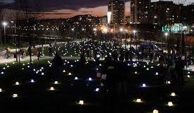 Fiesta de la luz el 21 de diciembre