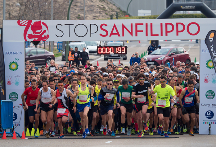 Carrera popular Síndrome de sanfilippo