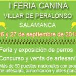 Feria Canina Villar de Peralonso 2015