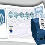 Nuevo resguardo de color de loteria electrónica en Salamanca