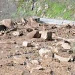 La carretera de la  presa de Aldeadavila cerrada